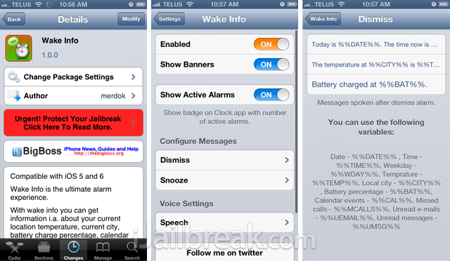 Wake-Info-Cydia-Tweak