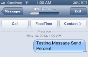 message-send-percent