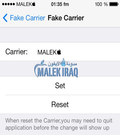 FakeCarrier