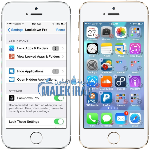 Lockdown Pro iOS 7