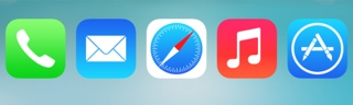 Five Icon Dock