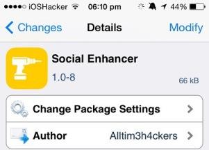 Social Enhancer