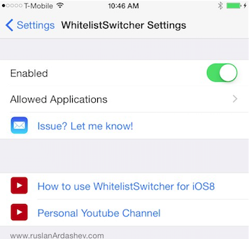 WhiteListSwitcher