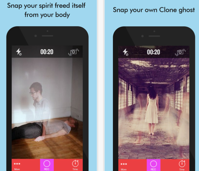 Ghost Lens+ Clone Photo Video Editor Edit with Awesome Filter & FX App and Pics Collage Blende