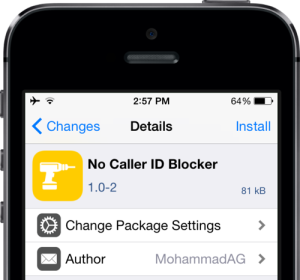 No Caller ID Blocker