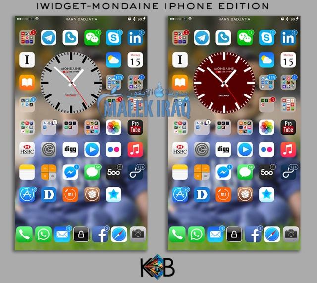 (iWidget-Mondaine Iphone Edition (Karn Badjatia