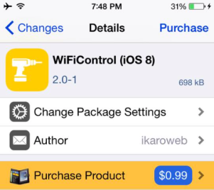 (WiFiControl (iOS 8