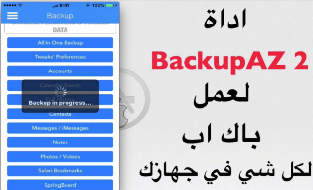 BackupAZ 2