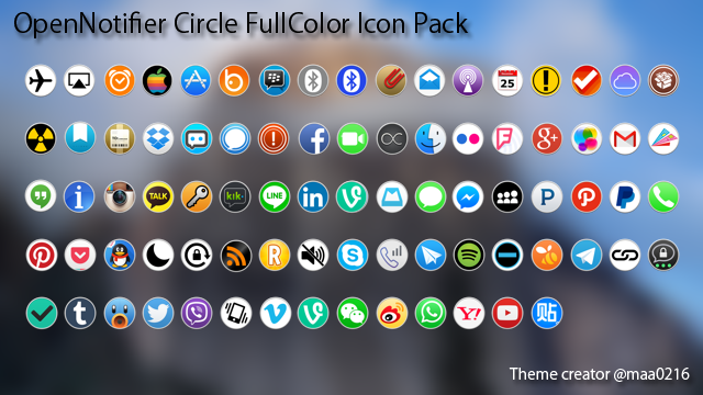 OpenNotifier Circle FullColor