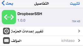 DropbearSSH